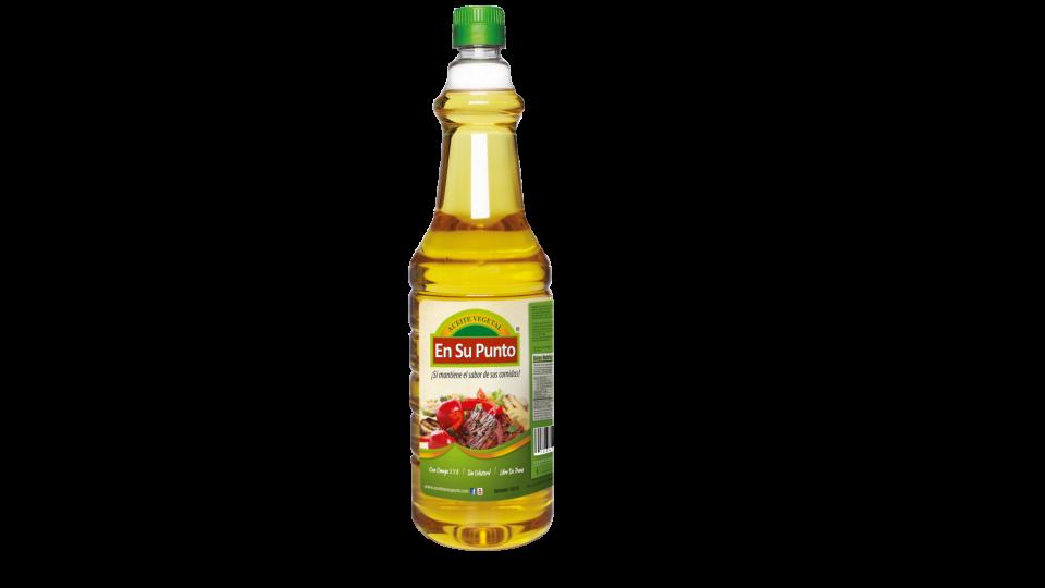 aceite en su punto botella