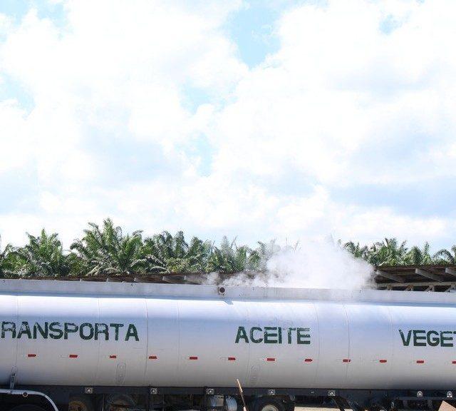 cisterna aceite vegetal