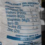 saco de fertilizante