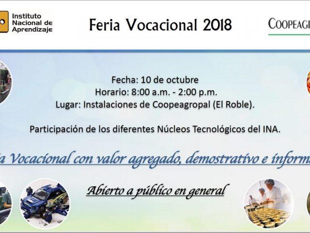 Feria Invitación coopeagropal 2018